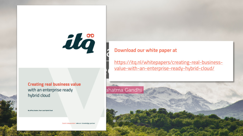 Download our white paper at https://itq.nl/whit...