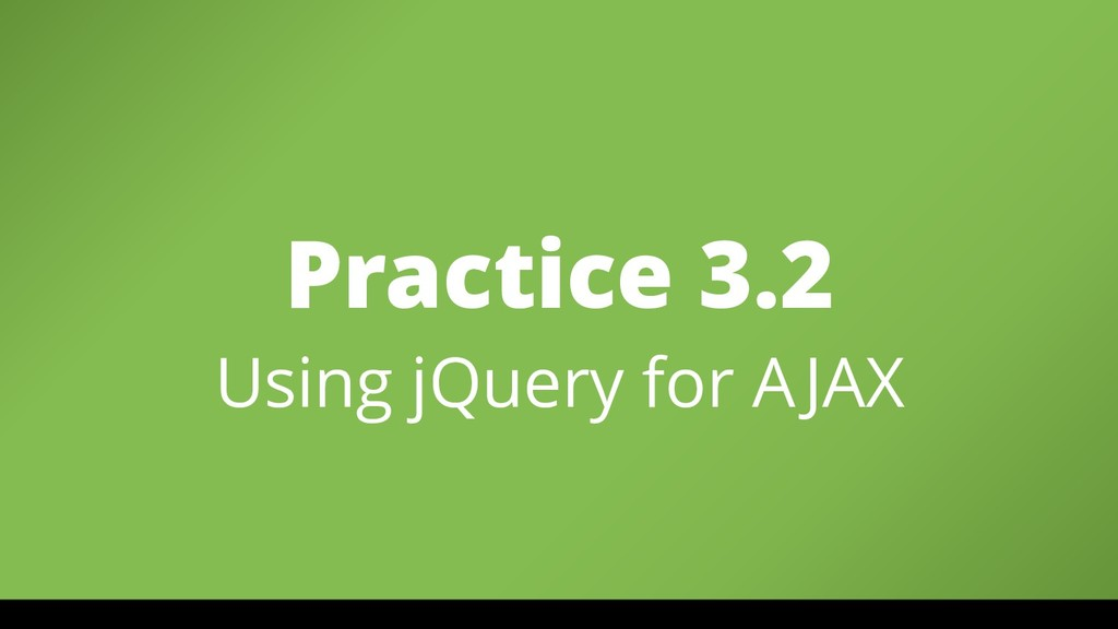 Practice 3.2