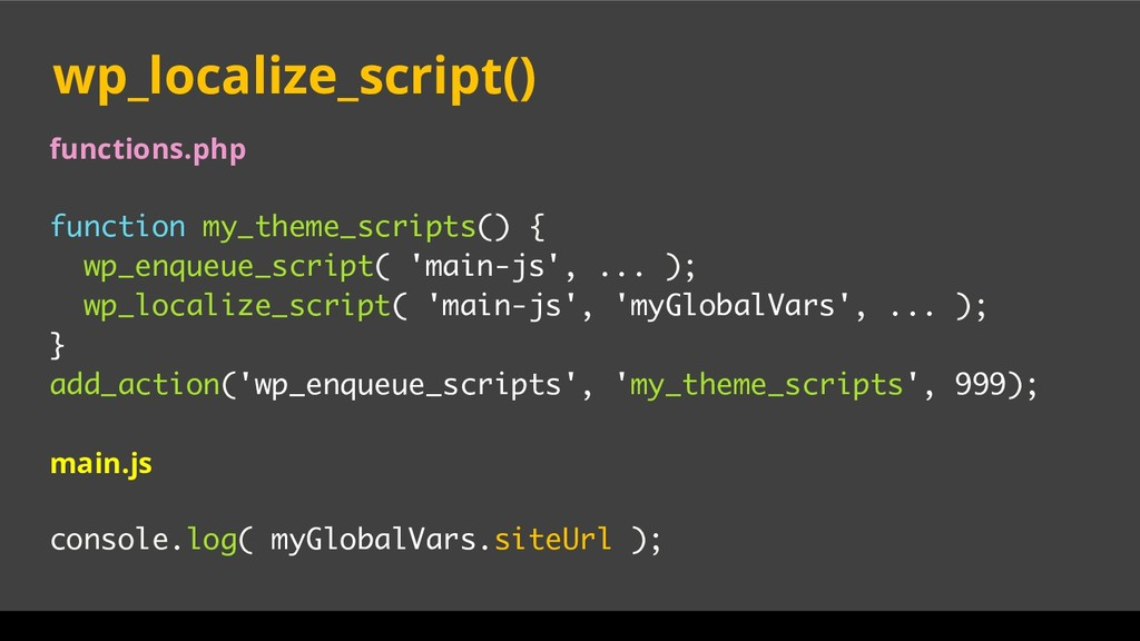 functions.php function my_theme_scripts() { wp_...