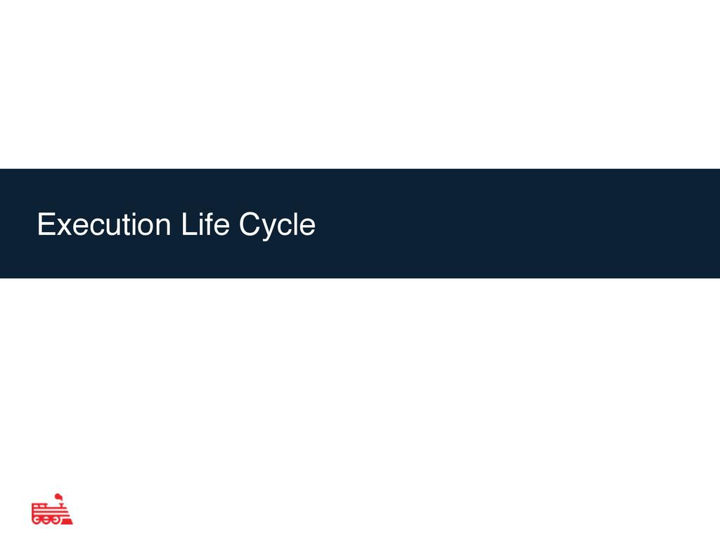 Agenda Execution Life Cycle