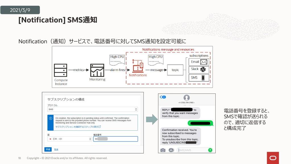 Notification(通知)サービスで、電話番号に対してSMS通知を設定可能に [Noti...