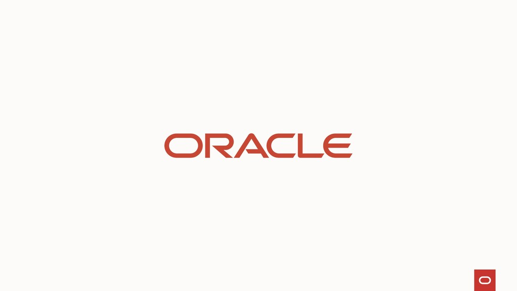 Thank you Copyright – © 2021 Oracle and/or its ...