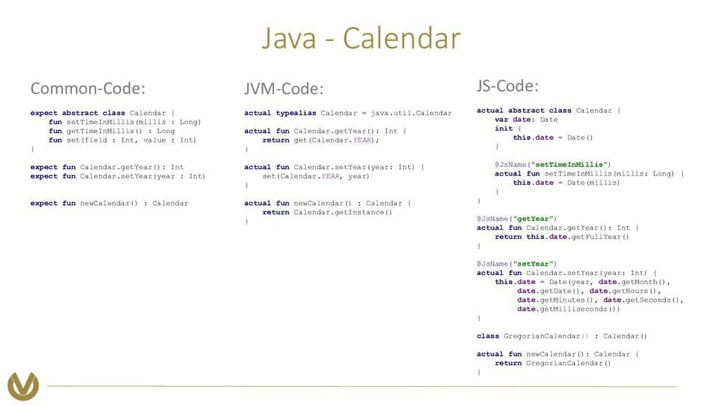 Java - Calendar Common-Code: expect abstract cl...