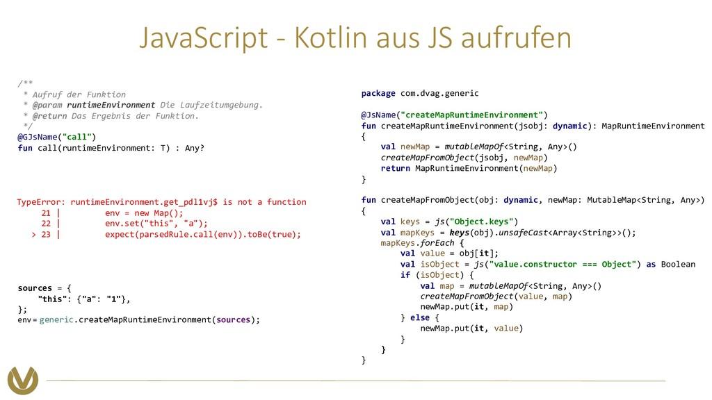 JavaScript - Kotlin aus JS aufrufen TypeError: ...