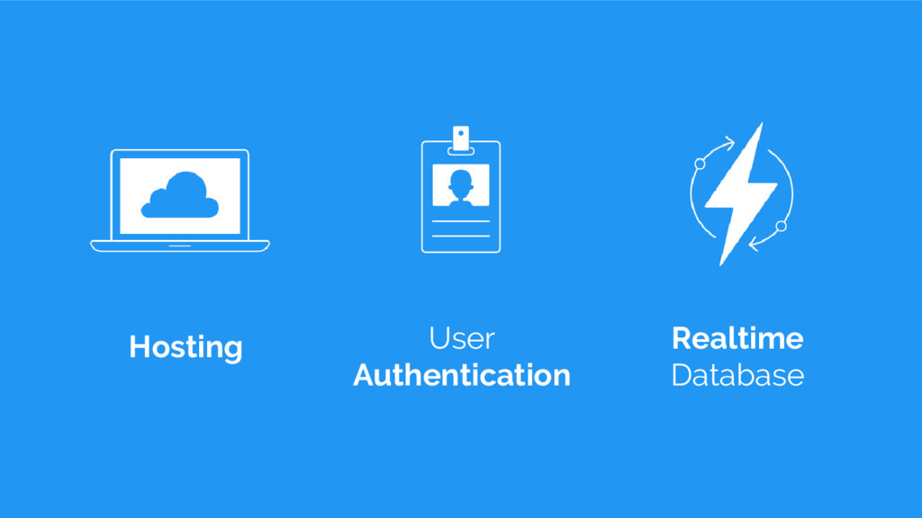 Hosting User Authentication Realtime Database