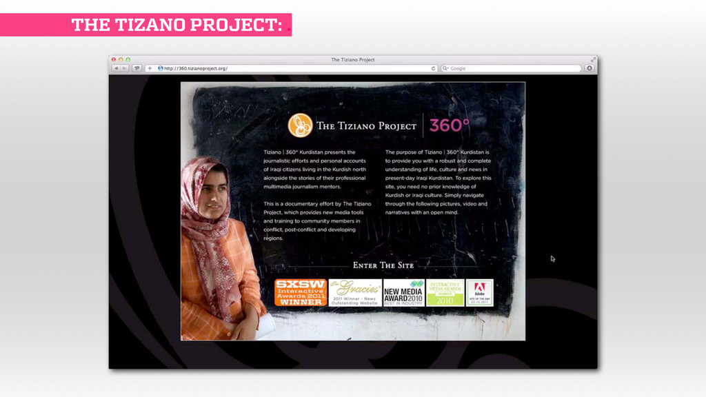 THE TIZANO PROJECT: .