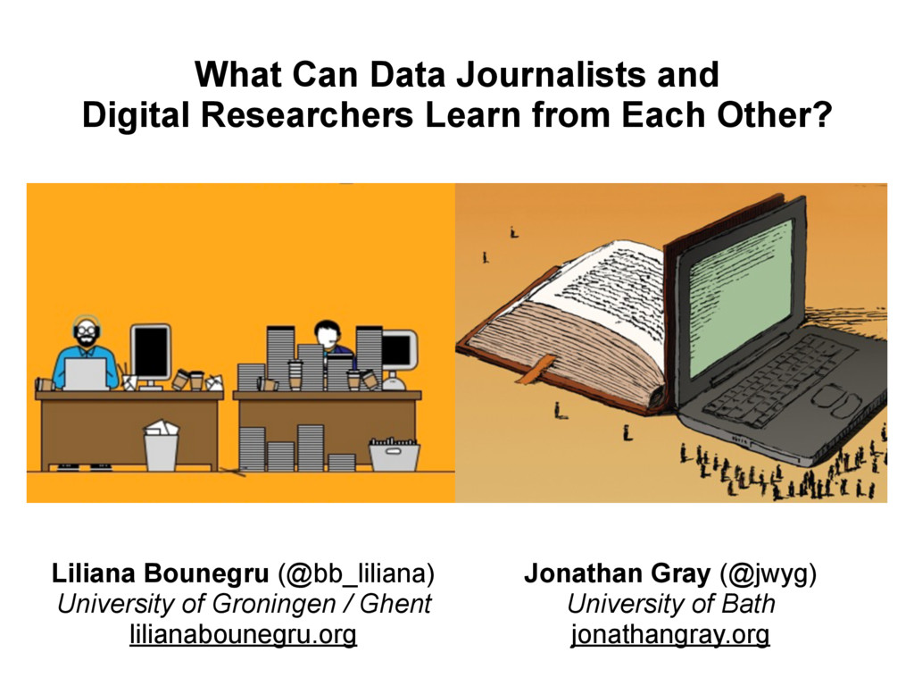What Can Data Journalists and  Digital Researc...