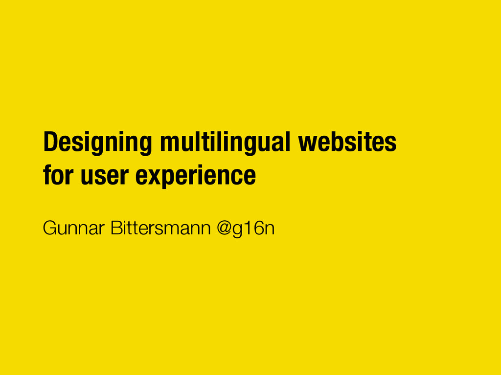 "Designing multilingual websites"" for user exper..."