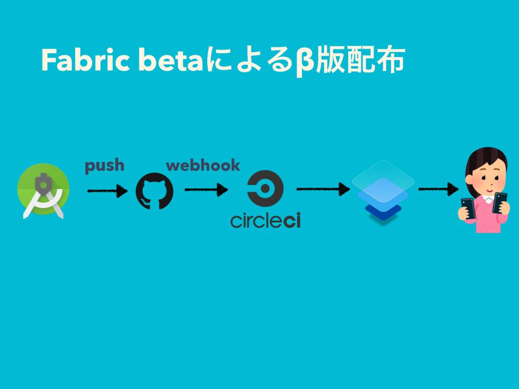 Fabric betaʹΑΔβ൛ webhook push