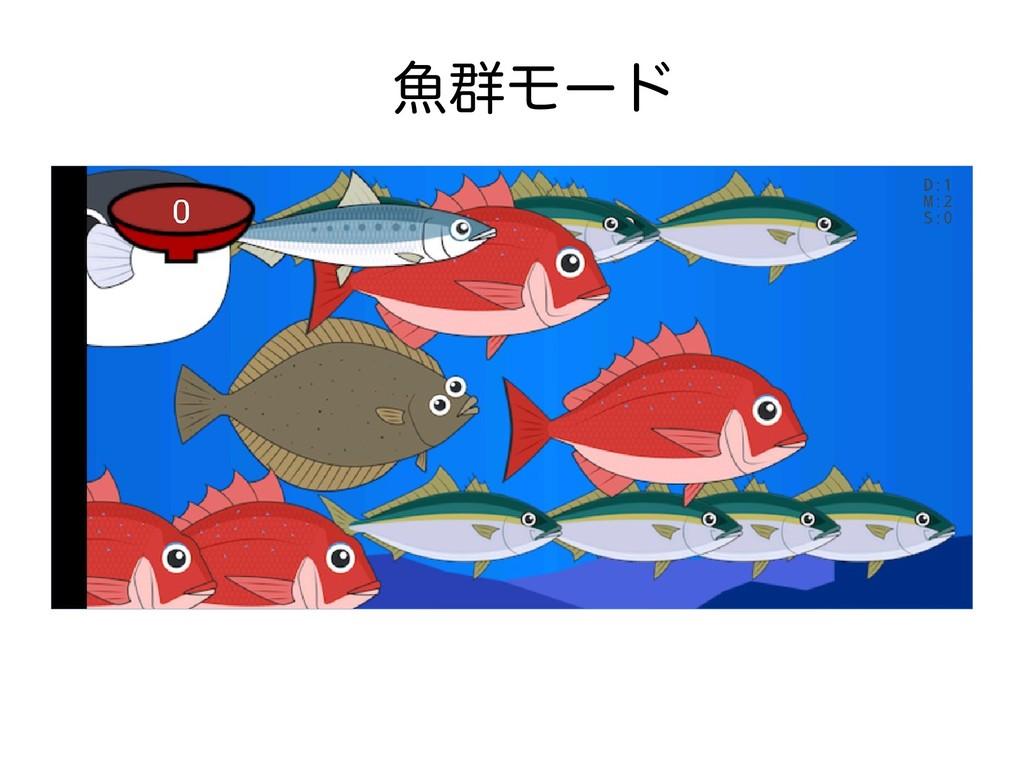 魚群モード