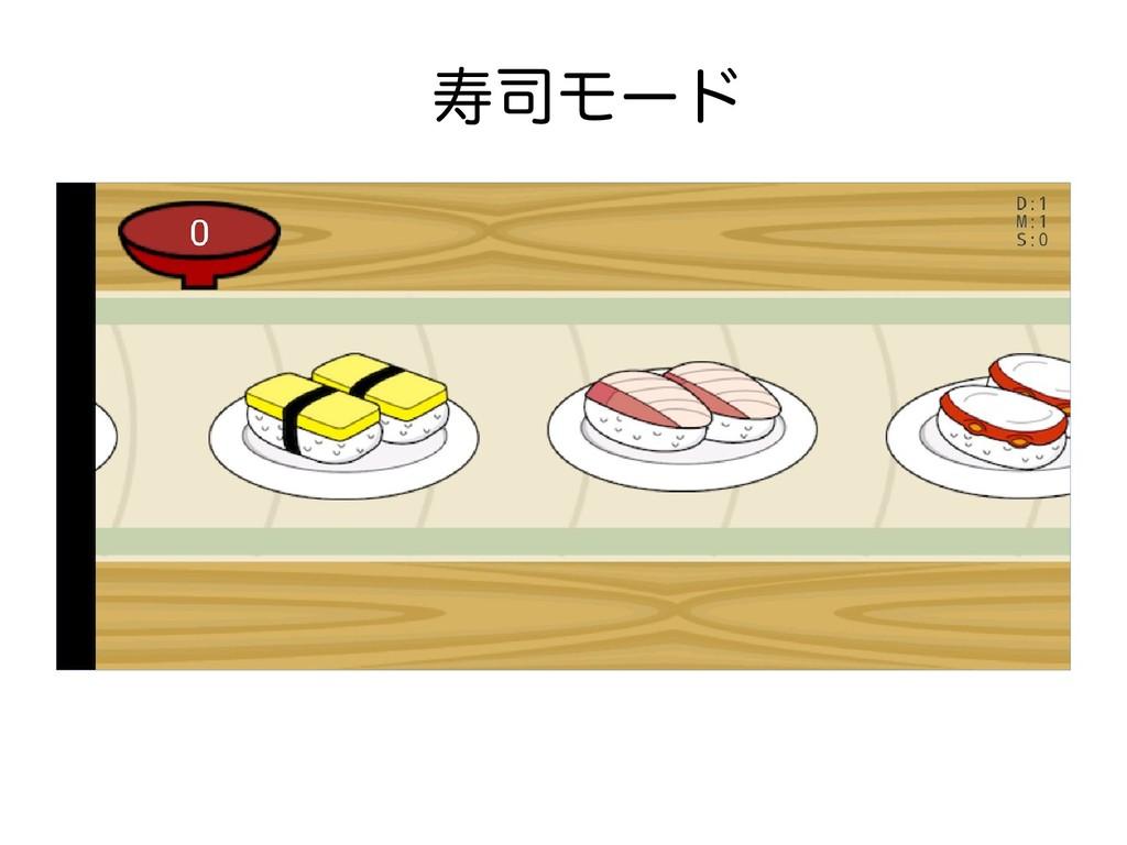 寿司モード