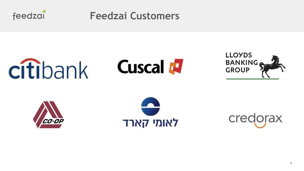 6 Feedzai Customers