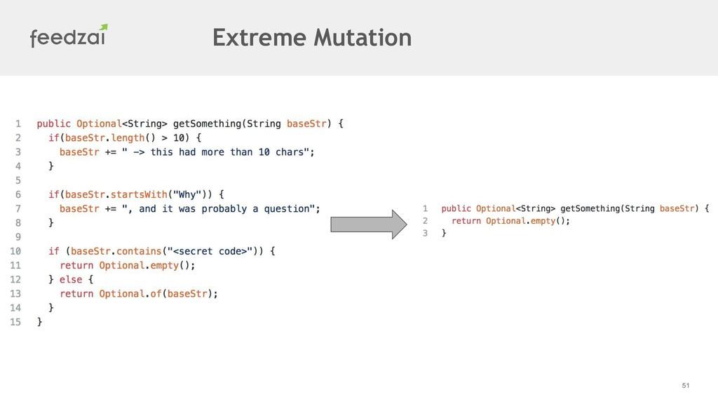 51 Extreme Mutation