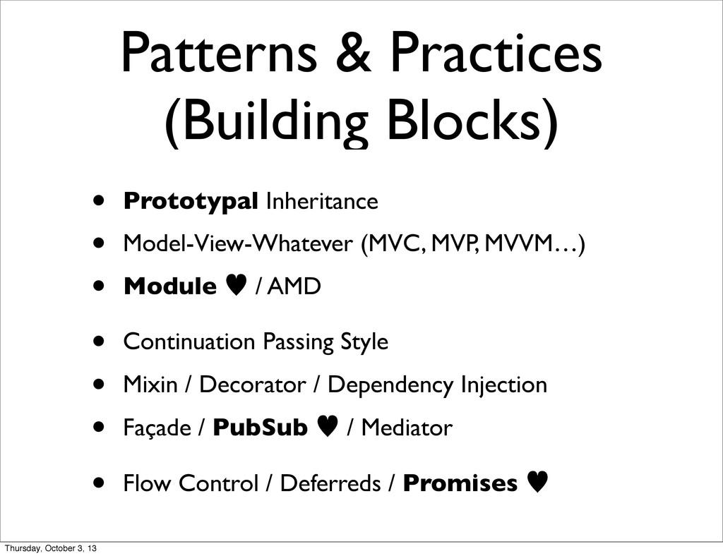Patterns & Practices (Building Blocks) • Protot...