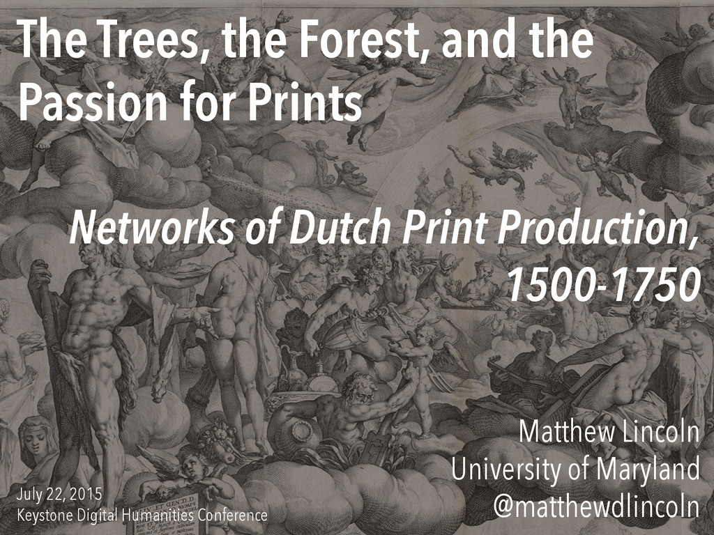 The Trees, the Forest, and the Passion for Prin...