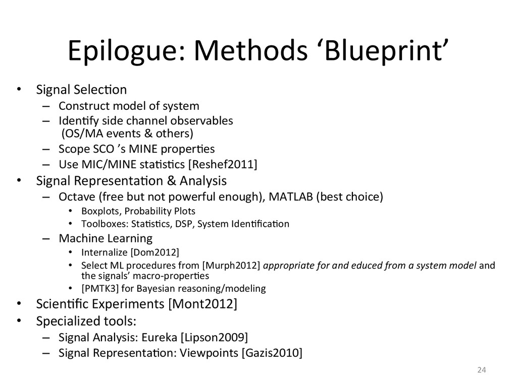 Epilogue:	