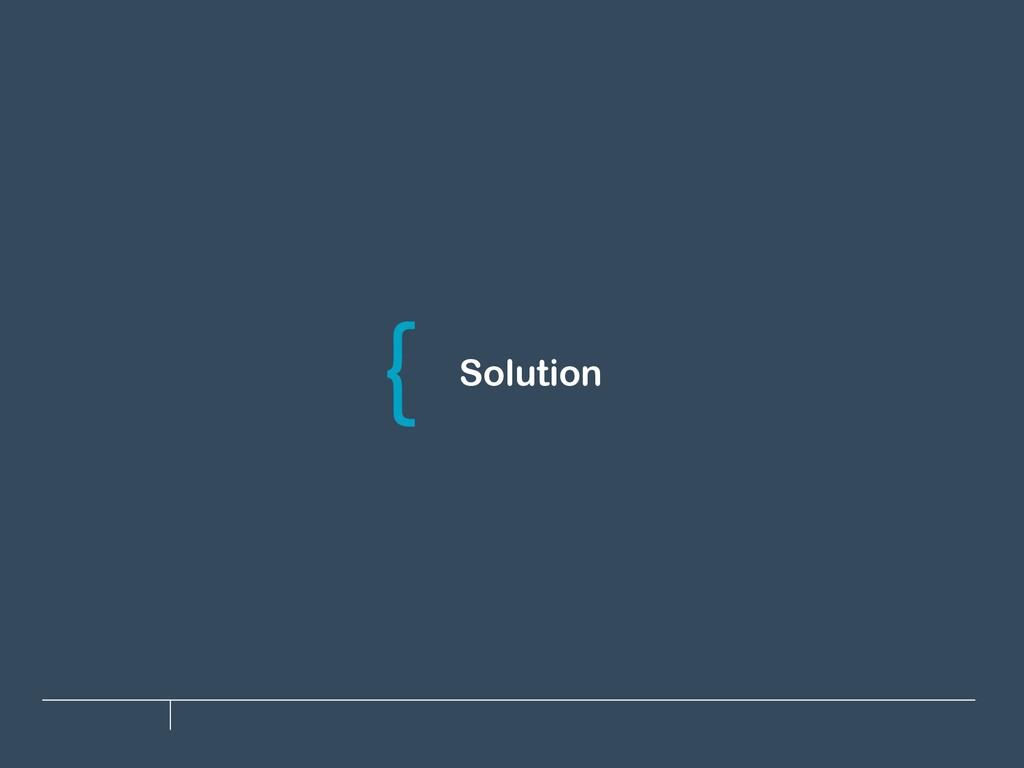 Solution \