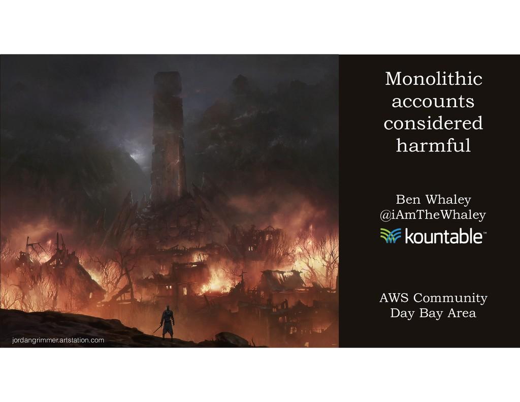 jordangrimmer.artstation.com Monolithic account...