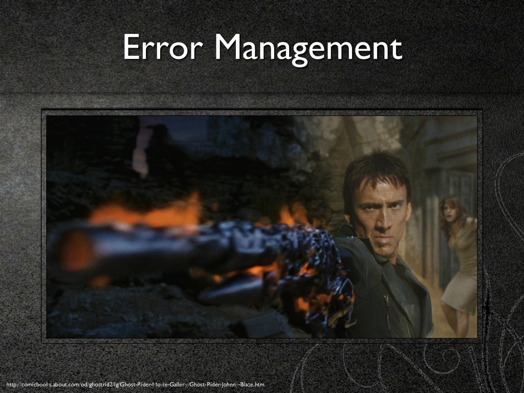 Error Management http://comicbooks.about.com/od...