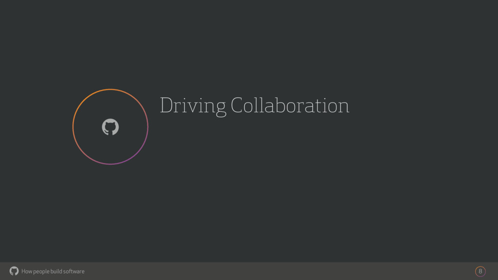 How people build software ! Driving Collaborati...