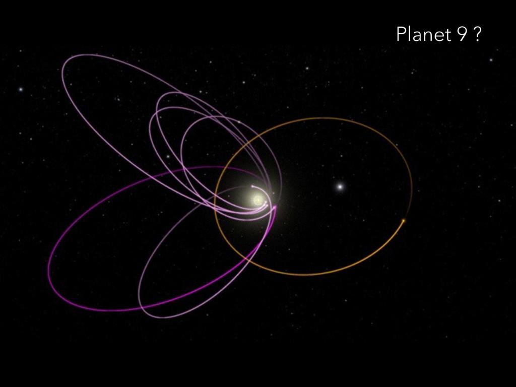 Planet 9 ?