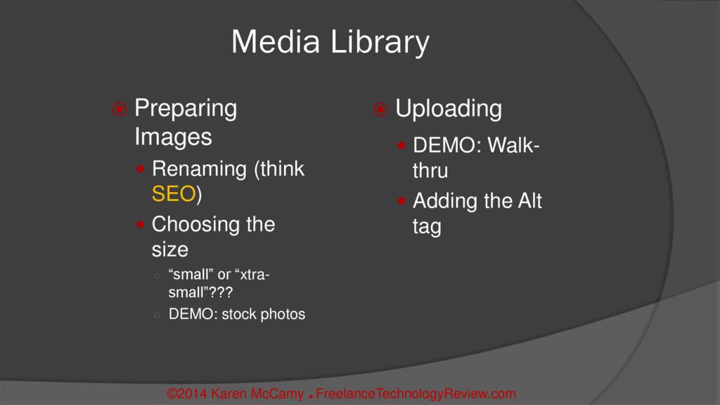 Media Library  Preparing Images  Renaming (th...