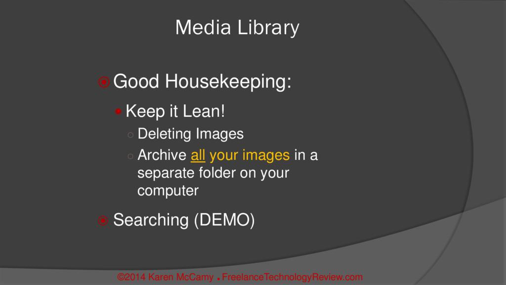 Media Library  Good Housekeeping:  Keep it Le...