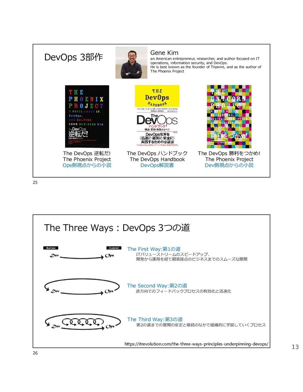13 DevOps 3部作 The DevOps 逆転だ! The Phoenix Proje...