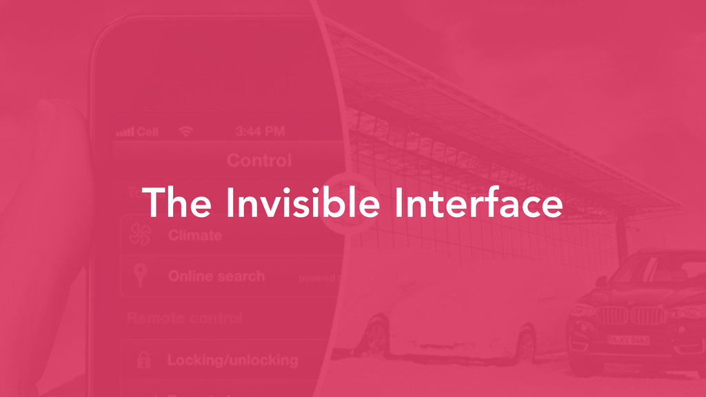 The Invisible Interface