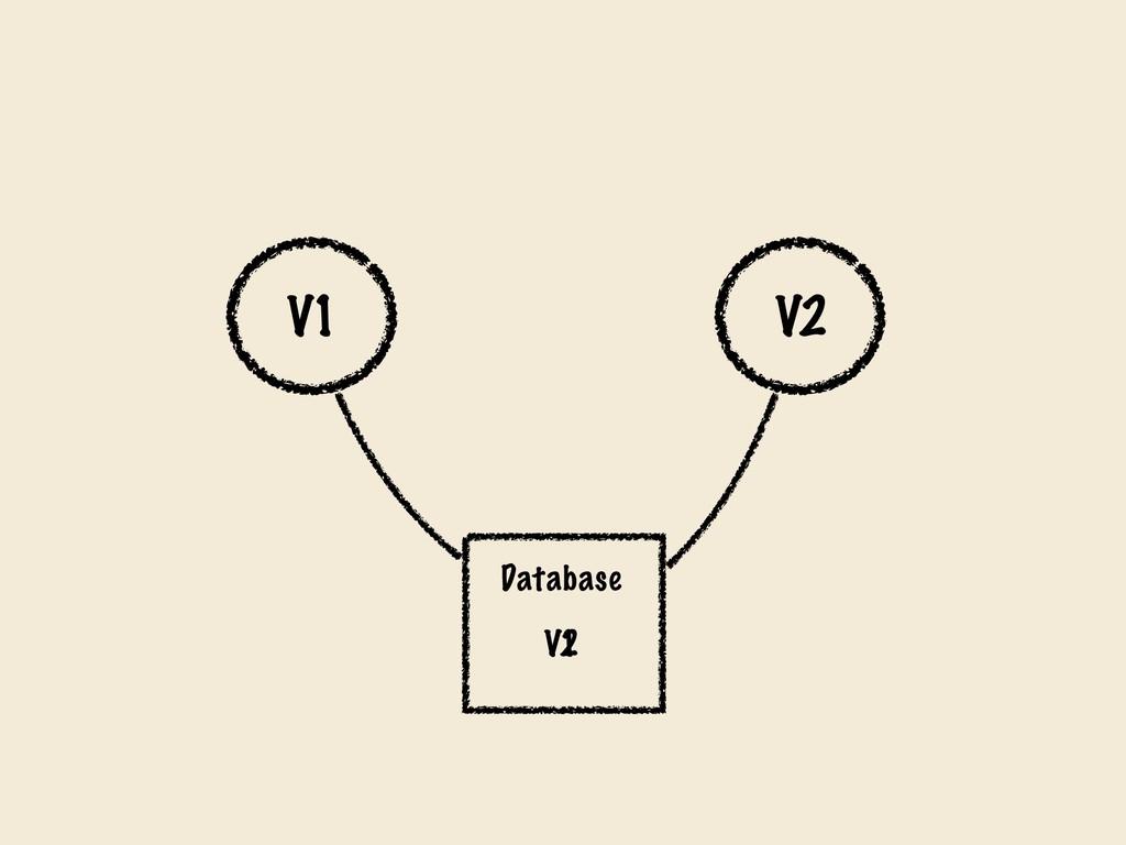 V1 V2 Database V1 V2