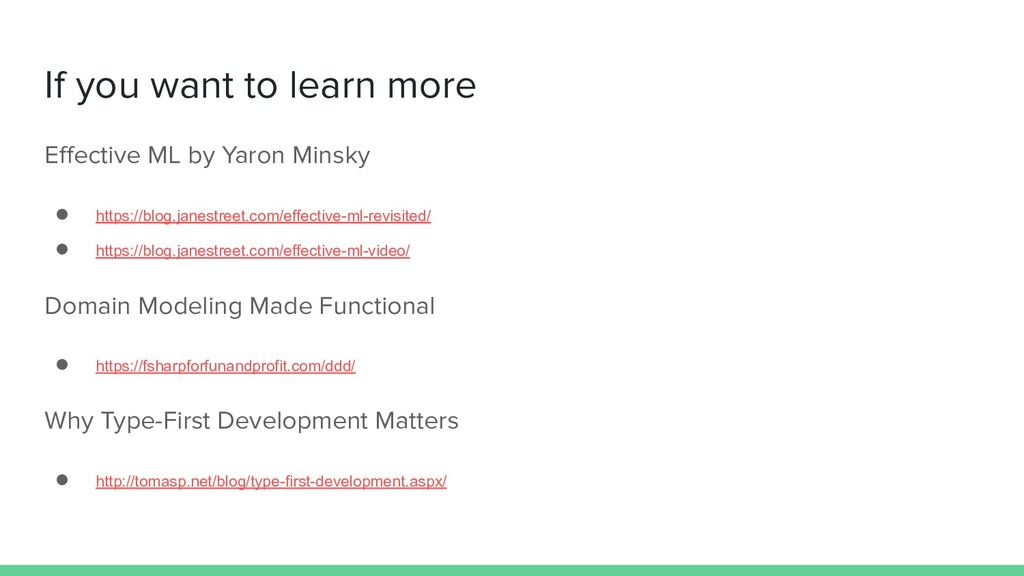 If you want to learn more Effective ML by Yaron ...