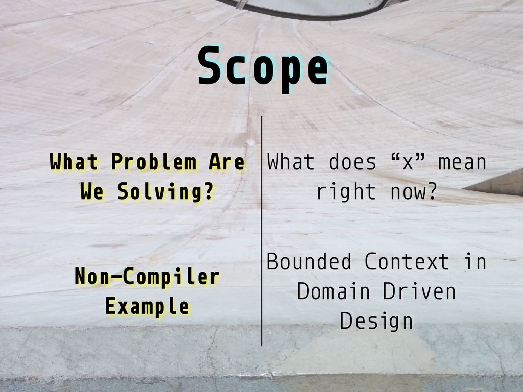 """Scope What Problem Are We Solving? What does """"x..."""