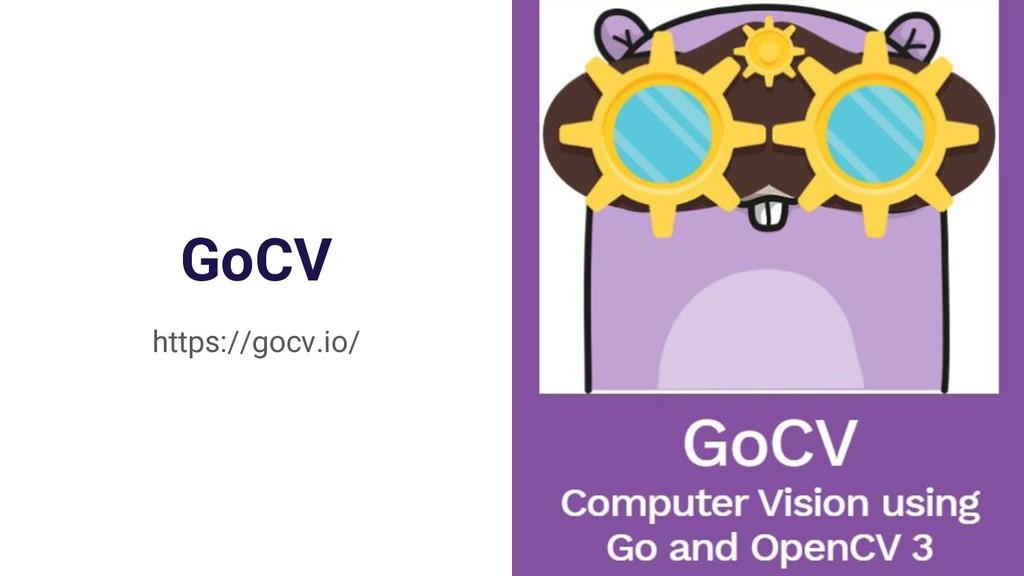 GoCV https://gocv.io/