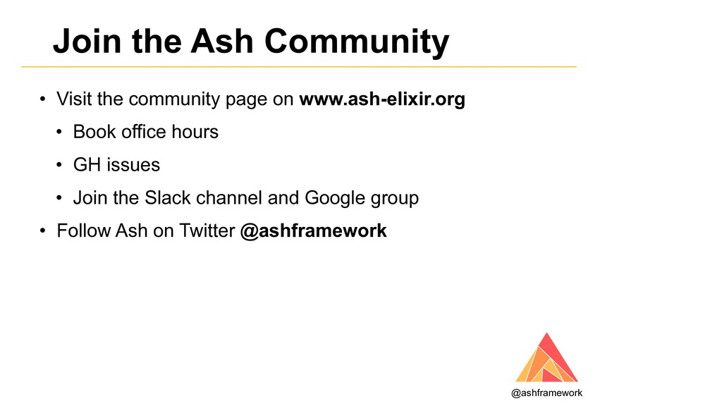 Join the Ash Community • Visit the community pa...