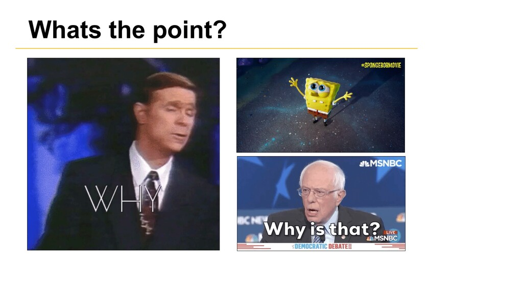 Whats the point?