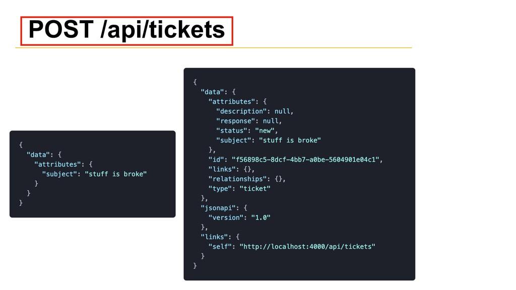 POST /api/tickets