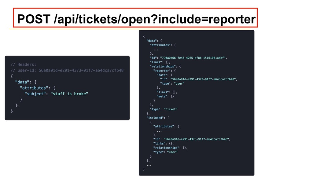 POST /api/tickets/open?include=reporter