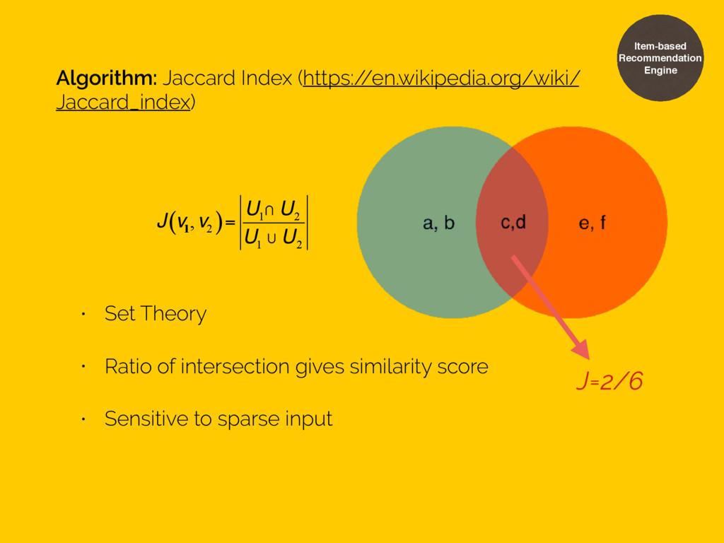 Algorithm: Jaccard Index (https:/ /en.wikipedia...