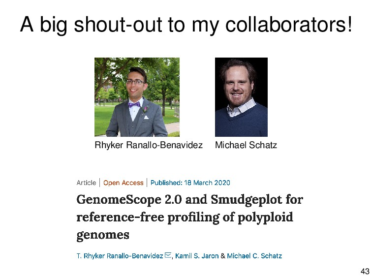 A big shout-out to my collaborators! Rhyker Ran...