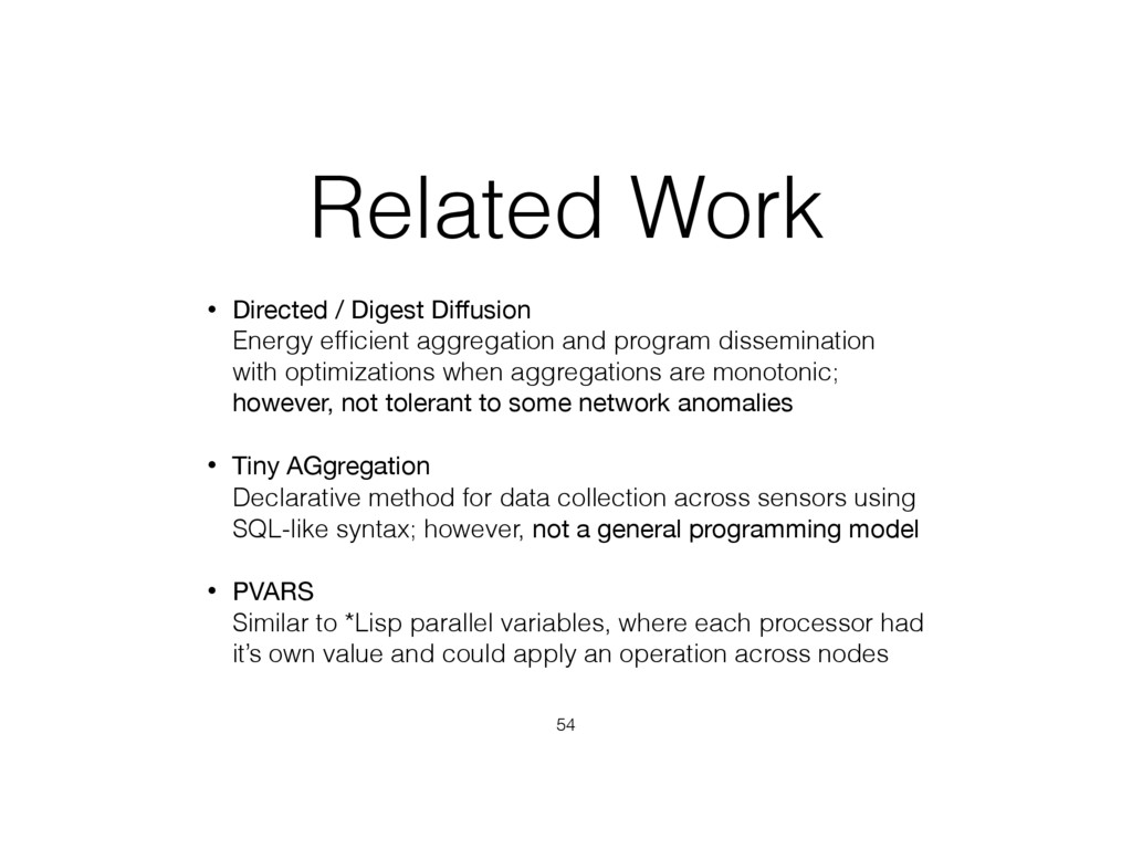 Related Work • Directed / Digest Diffusion Ener...