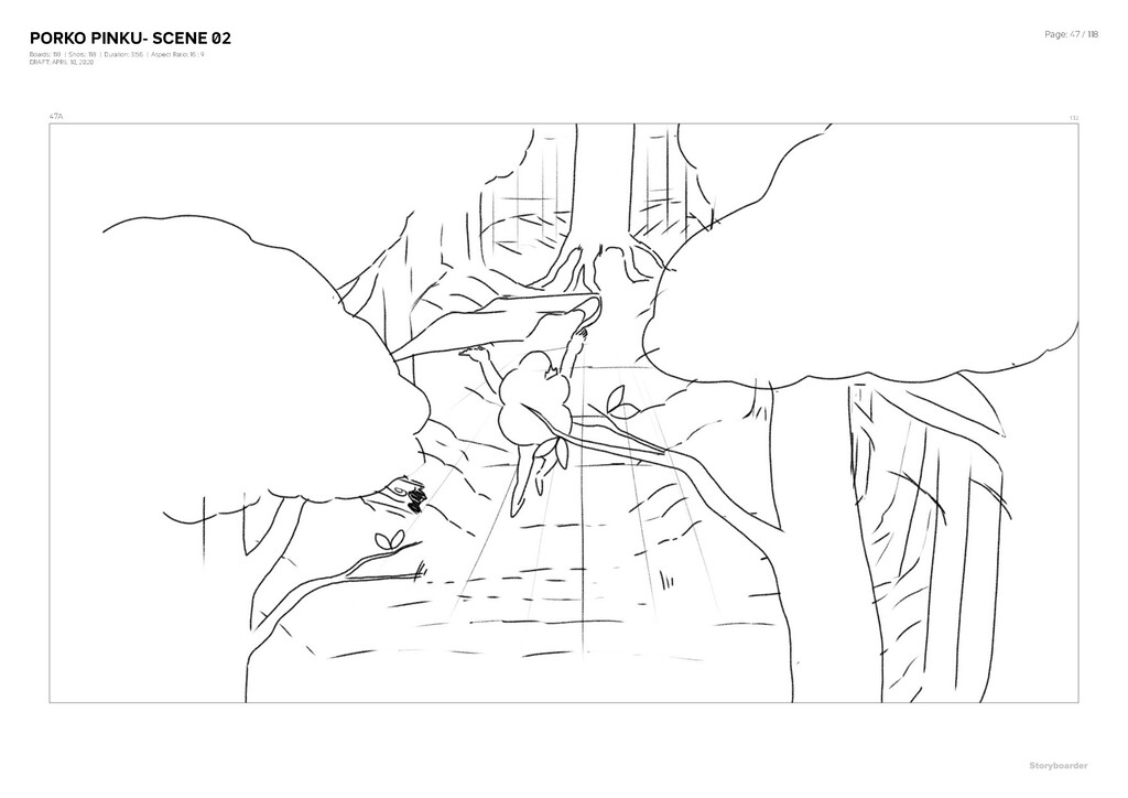 PORKO PINKU- SCENE 02 Boards: 118 | Shots: 118 ...