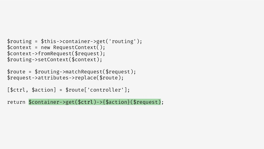 $routing = $this->container->get('routing'); $c...