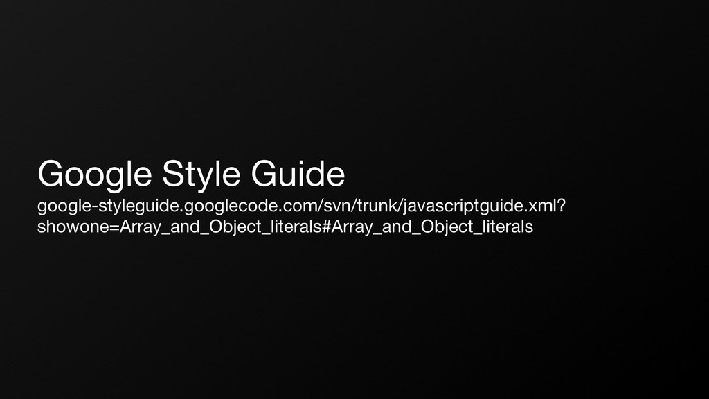 Google Style Guide google-styleguide.googlecode...