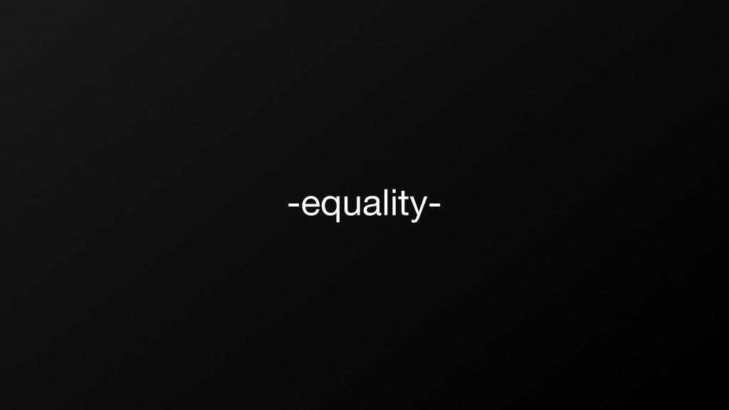 -equality-