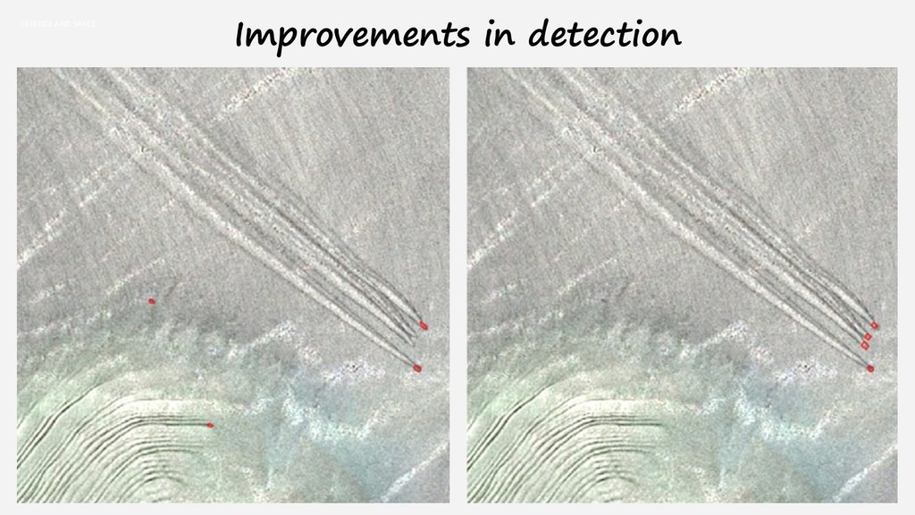DEFENCE AND SPACE Improvements in detection