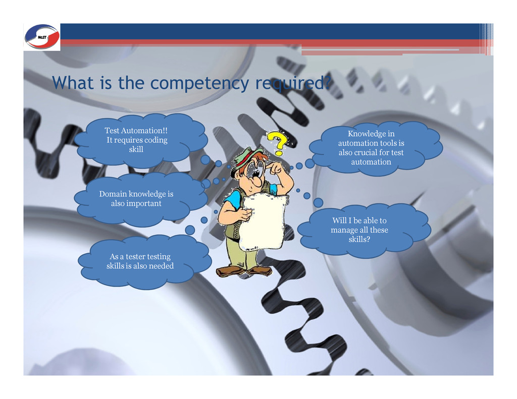 What is the competency required? Test Automatio...
