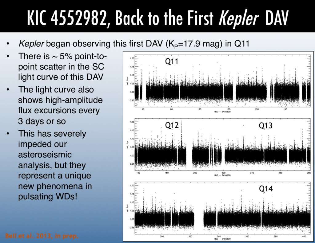 KIC 4552982, Back to the First Kepler DAV Q11 Q...