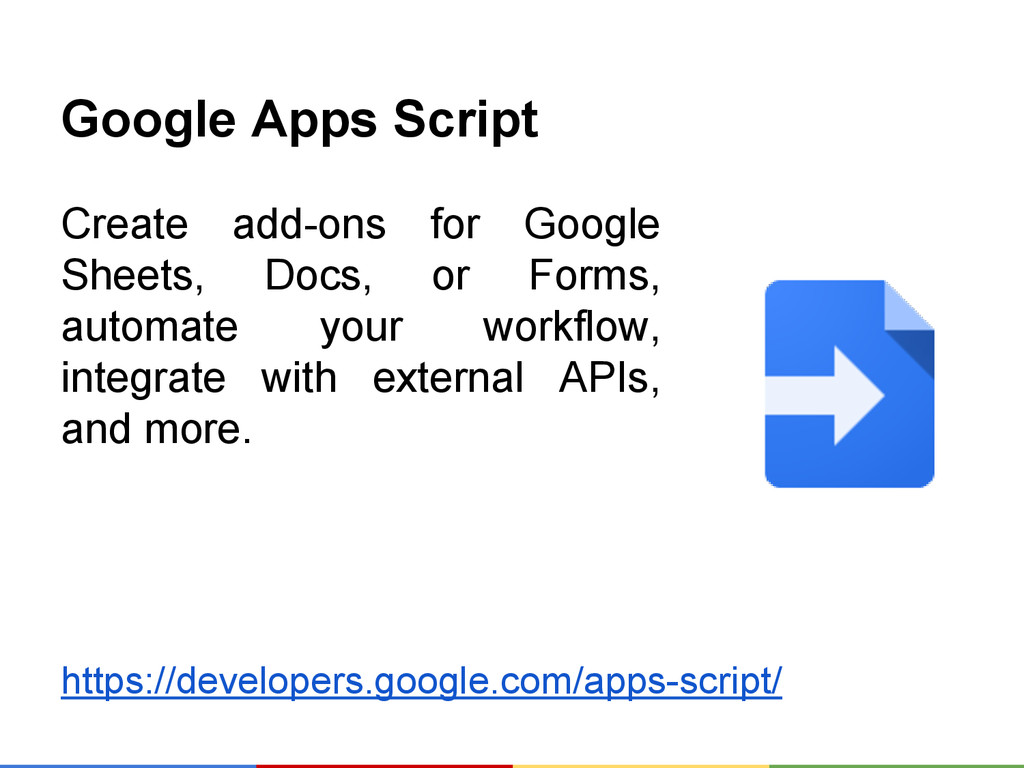 Google Apps Script Create add-ons for Google Sh...
