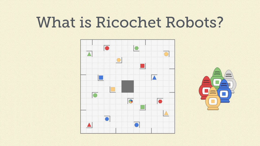 What is Ricochet Robots?