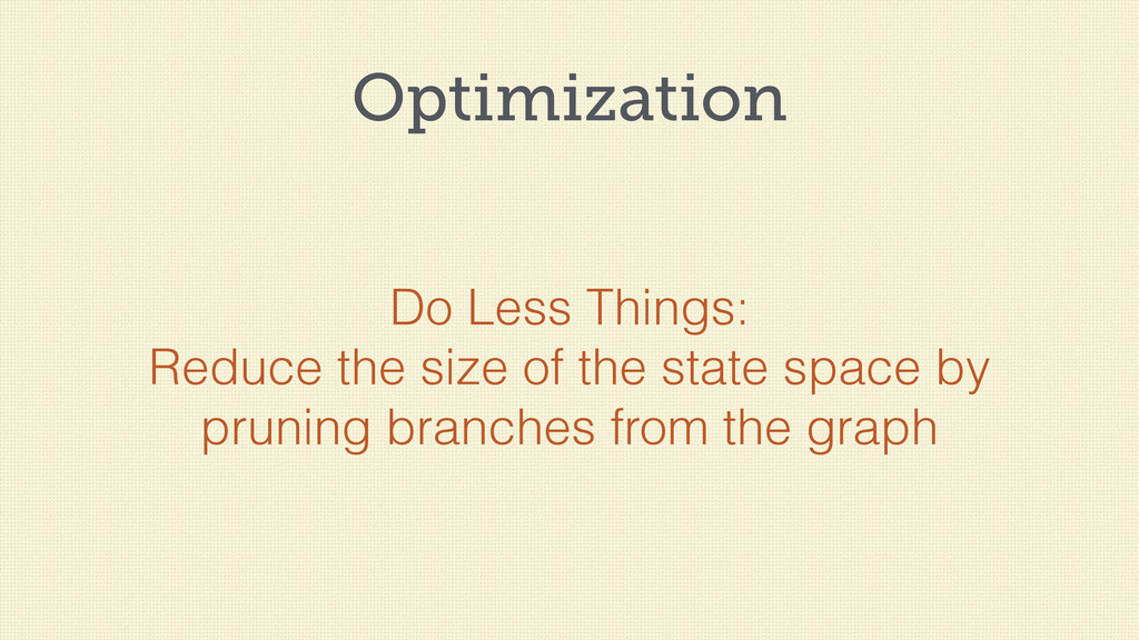 Optimization Do Less Things: Reduce the size of...